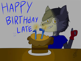 happy late birthday by jefersonbr64