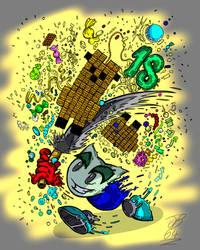 18 Yeas Deviant Art by jefersonbr64
