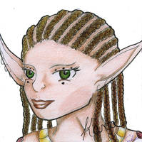 Kara Portrait by Calyses