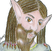 Yares Portrait by Calyses