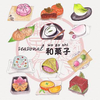 seasonal wagashi by hideta