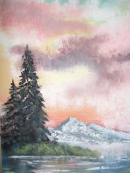 fir trees by bing4288