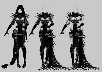 Outfit design - 185  - closed by LotusLumino
