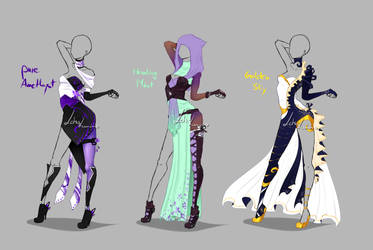Outfit design - 233 - 235  - closed by LotusLumino