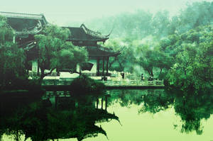 Landscape in the mist by sunny2011bj