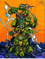 Teenage Mutant Ninja Turtles by Ryan-J-Miller