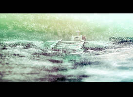 Speedpaint 12 - Frozen Grave by GoldenOne