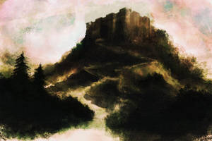 Speedpaint 17 - Castle on High by GoldenOne