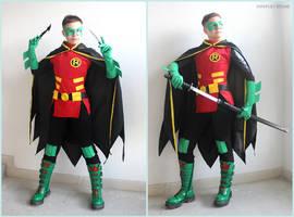 Robin Damian Wayne by NarciSSai