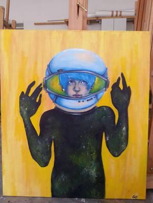 Space boy by Zomb1eChild