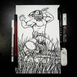 Found Ya! (Inks) by BiggySchmalz
