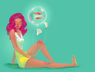 Bubblefish by kazie