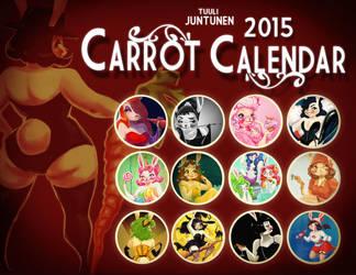 Carrot Calendar 2015 by kazie