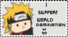 i support world domination by ninjajohnny