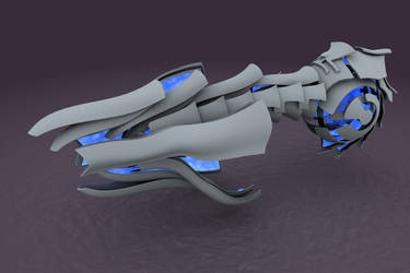 Killtah Battleship 1st concept by failurecrusade