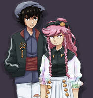 lon'qu and olivia by TheLozzter5000
