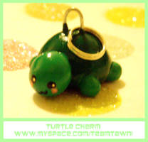Turtle Charm by TeamTawni