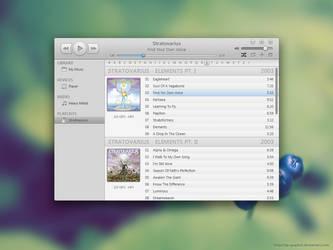 Music Player Mockup 2 by AlexandrePh