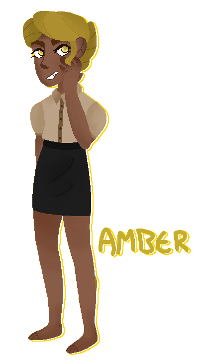 amber by whiskers1204blue