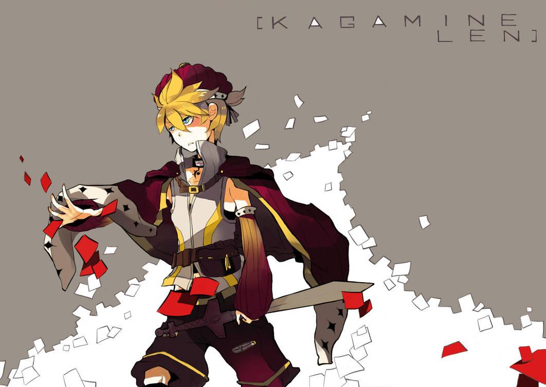 kagamine len. by chobble