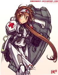 Terran Medic Girl by KNKL
