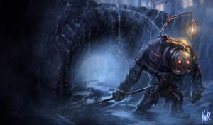 LoL - Undertaker Yorick by KNKL