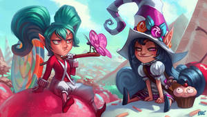 LoL Candy Girls! by KNKL