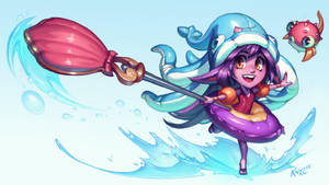 Pool Party Lulu - League of Legends (with video!) by KNKL