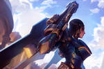 Pharah - 21 days of Overwatch! by KNKL