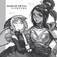 Mika and Moka - Japanese advert by KNKL