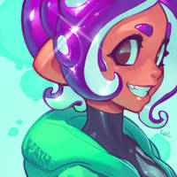 Shiny Octoling - Youtube!! by KNKL