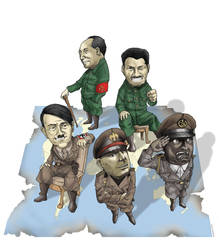 World Greatest Dictators by vherand
