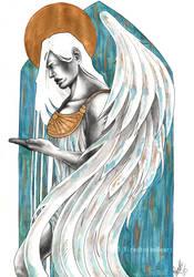 Gold Angel by Noss91