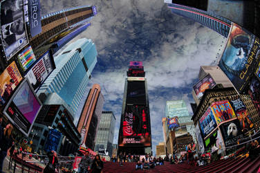 Times Square by Leasepics