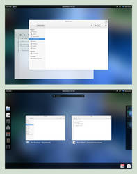 Gnome 3.x Refined by spiceofdesign