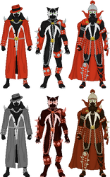 Spawn Costumes, pt. 2 by Taiko554