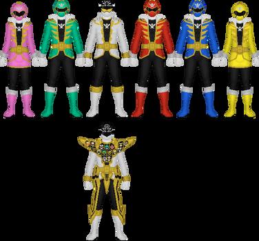 Kaizoku Sentai Gokaiger by Taiko554
