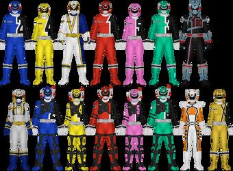 Tokusou Sentai Dekaranger by Taiko554