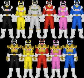 Denji Sentai Megaranger by Taiko554