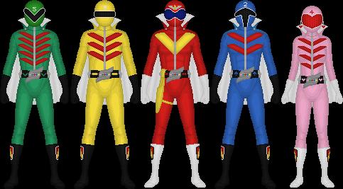 Himitsu Sentai Goranger by Taiko554 on DeviantArt