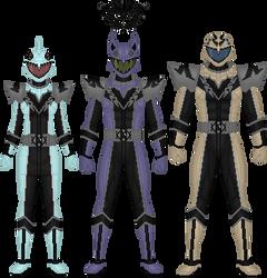 Shihai Sentai Kyoufuger, H.I.V.E.'s Rangers by Taiko554