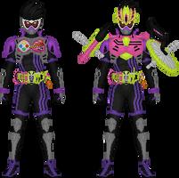 Kamen Rider Genm by Taiko554