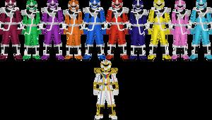 Vector Sentai Mirrorman by Taiko554