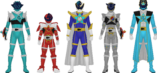 Additional Kyurangers, Part 1 by Taiko554