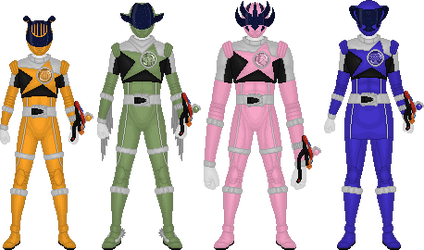 Additional Kyurangers, Part 10 by Taiko554