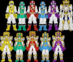 Shinka Sentai Crusager by Taiko554