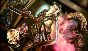 Evil Dead 2 by bloodedemon