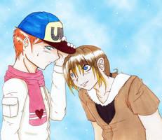 Hey, I like your scarf by Rina-ran