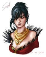 Morrigan by Se-re-nA