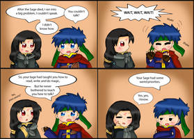 Fire Emblem comic: Tongue Tied by purplemagechan
